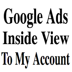 My Google Ads Account