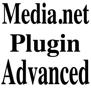 Media net Plugin Advanced Configuration - Youtube Video Demonstration